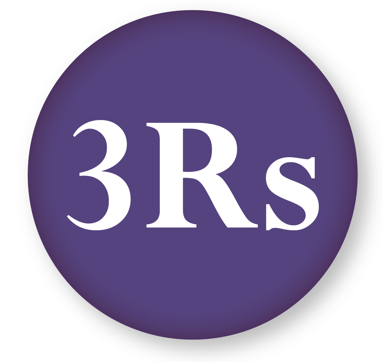 Three Rs of biomedical research icon