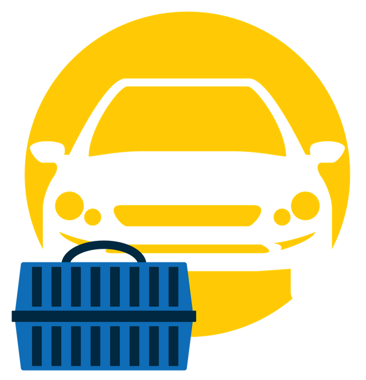 Animal transportation icon