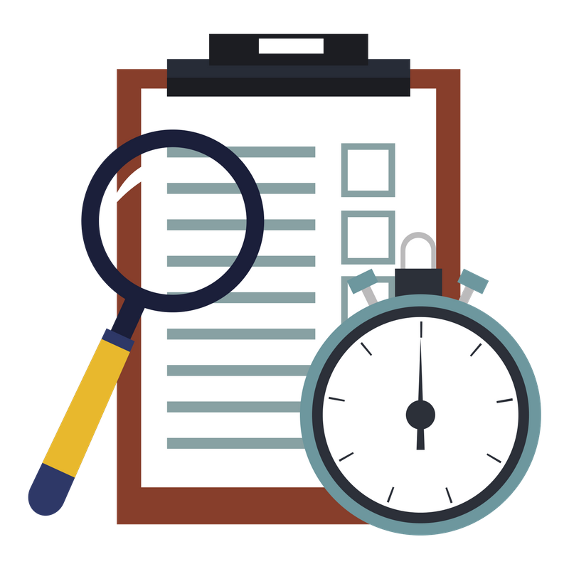 Checklist and reminder icon