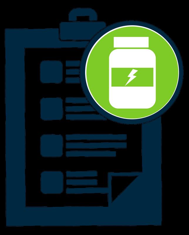 Formalin safety checklist icon