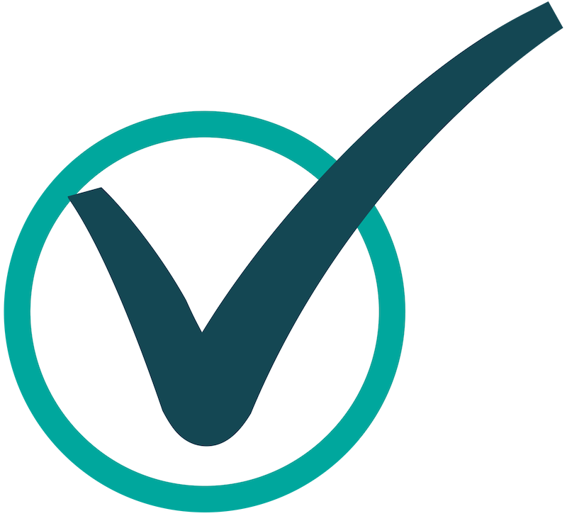 Green circle checklist icon