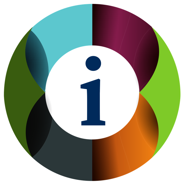 Colorful information icon