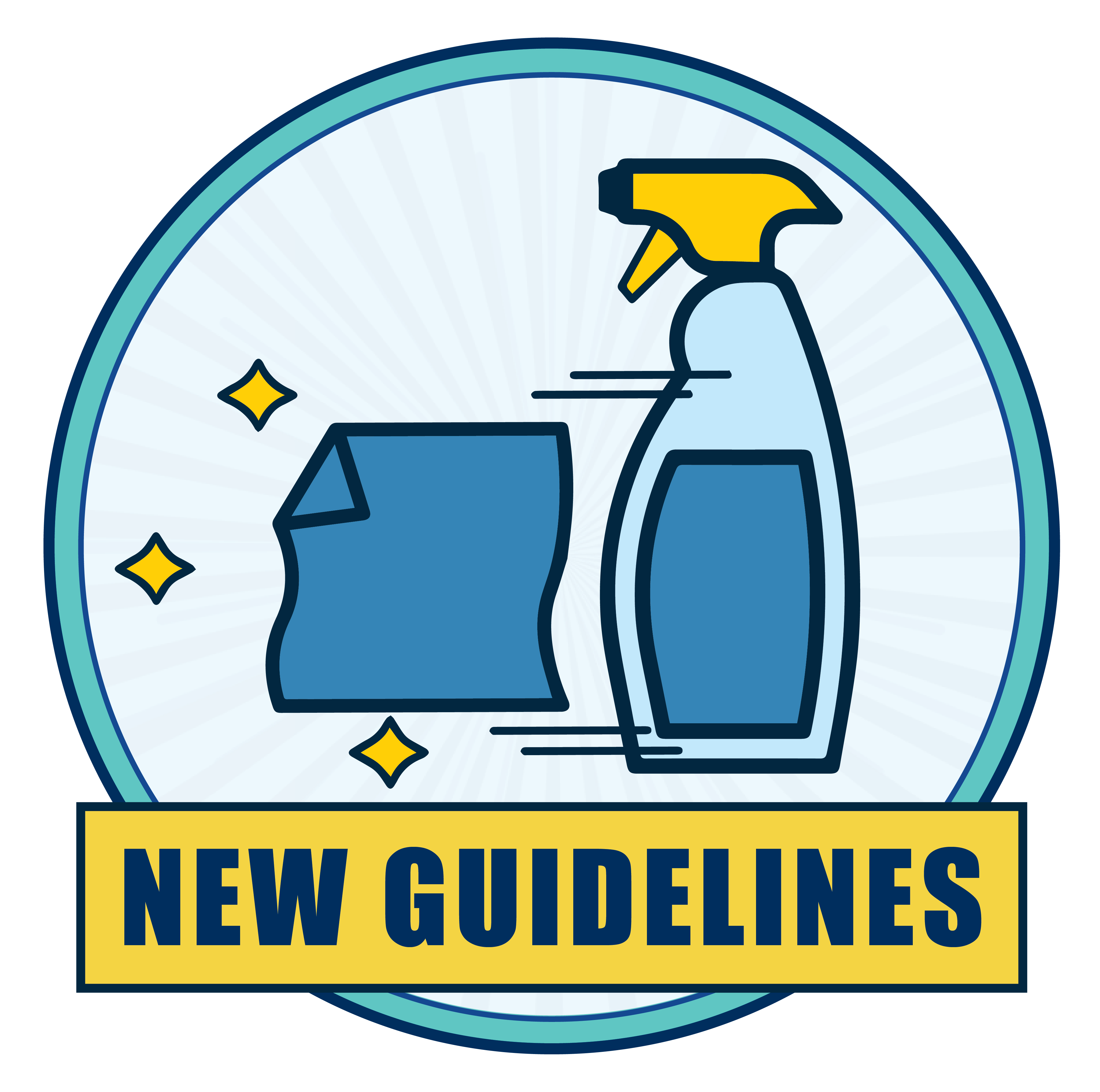 New Sanitization Guidelines icon