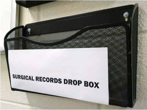 Surgical records dropbox