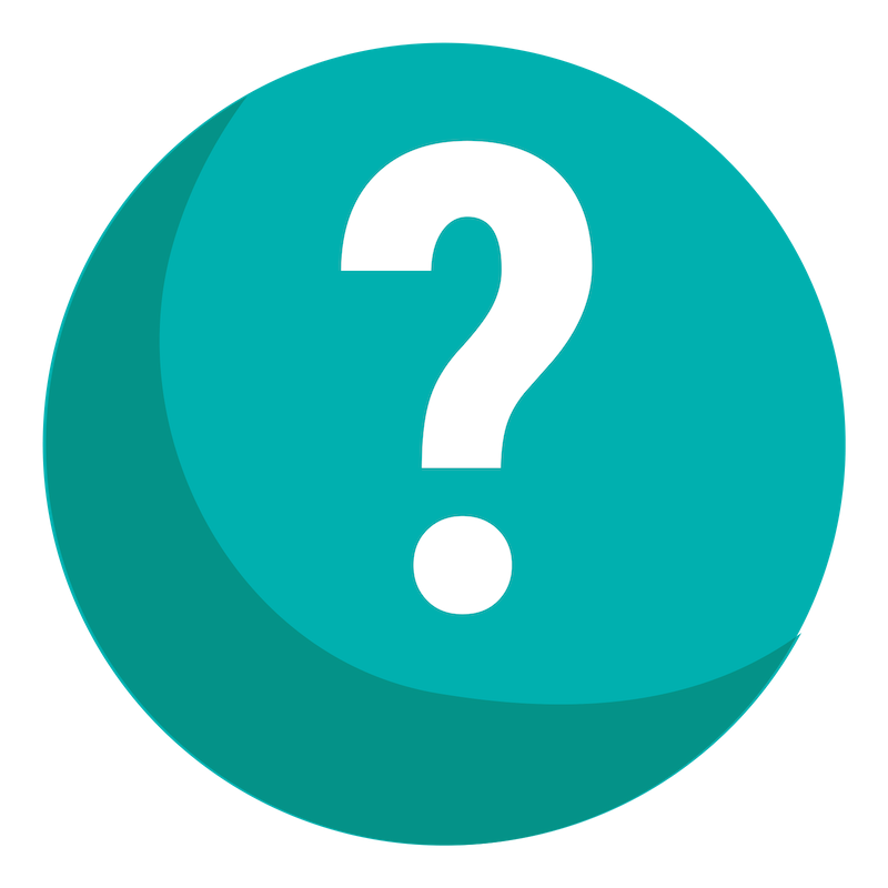 Teal ask questions icon