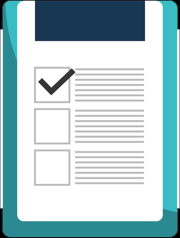 Green equipment sanitization validation checklist